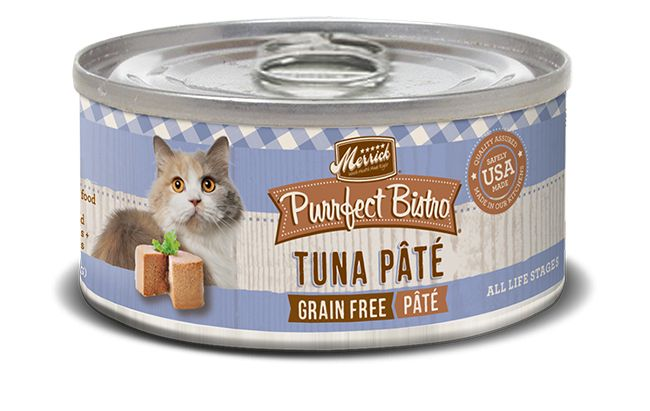 MERRICK Merrick Purrfect Bistro Cat Tuna Pate 5.5 oz Can