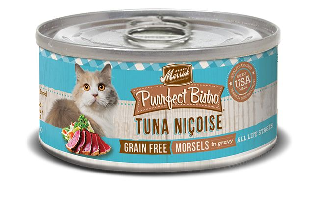 MERRICK Merrick Purrfect Bistro Cat Tuna Nicoise 3 oz Can