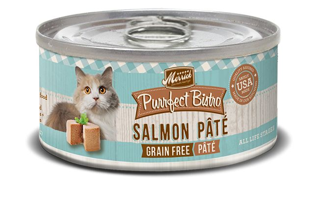 MERRICK Merrick Purrfect Bistro Cat Salmon Pate 3 oz Can