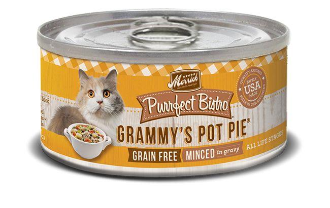 MERRICK Merrick Purrfect Bistro Cat Grammy's Pot Pie 5.5 oz Can