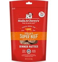 STELLA & CHEWY'S Stella & Chewy's Freeze Dried Beef Dinner Patties 14OZ