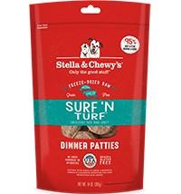 STELLA & CHEWY'S Stella & Chewy's Freeze Dried Surf&Turf Dinner Patties 14OZ