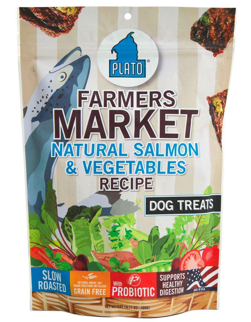 PLATO PET TREATS Platos Farmers Market Treats -
