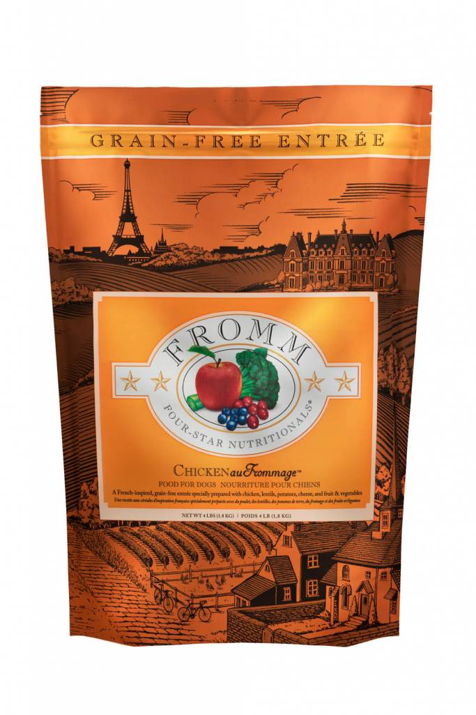 FROMM Fromm Four Star Grain Free Chicken Frommage -