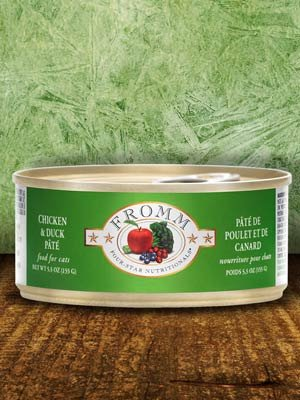 FROMM Fromm Cat 4-star Duck & Chicken 5.5oz can