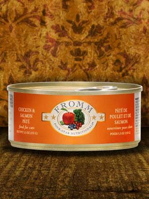 FROMM Fromm Cat Four-Star Pate Chicken and Salmon 5.5oz
