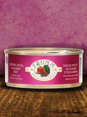 FROMM Fromm Cat Four-Star Pate Chicken/Duck/Salmon 5.5oz