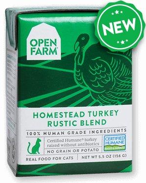 Open Farm Open Farm Cat Turkey Blend 5.5oz