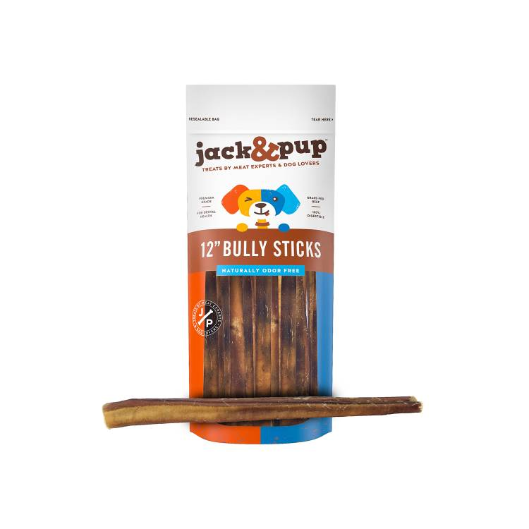 Jack and PUp Jack & Pup Odorless Bully Sticks