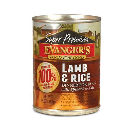 EVANGERS Evangers  Lamb & Rice 12.8oz