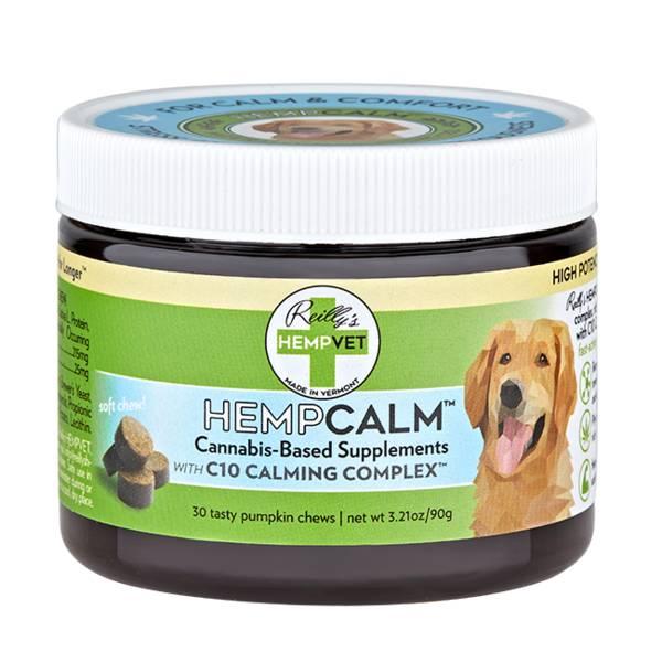 Reilly Hemp Hempvet Supplements -  Calm Support