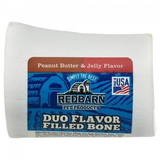 REDBARN Redbarn Filled Bones Peanut Butter and Jelly -