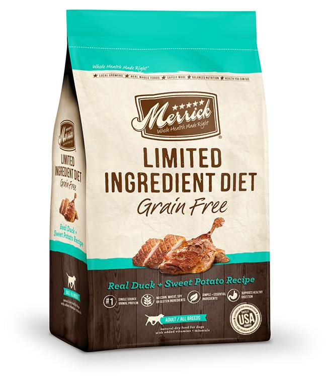 MERRICK Merrick Limited Ingredient Grain Free Duck -