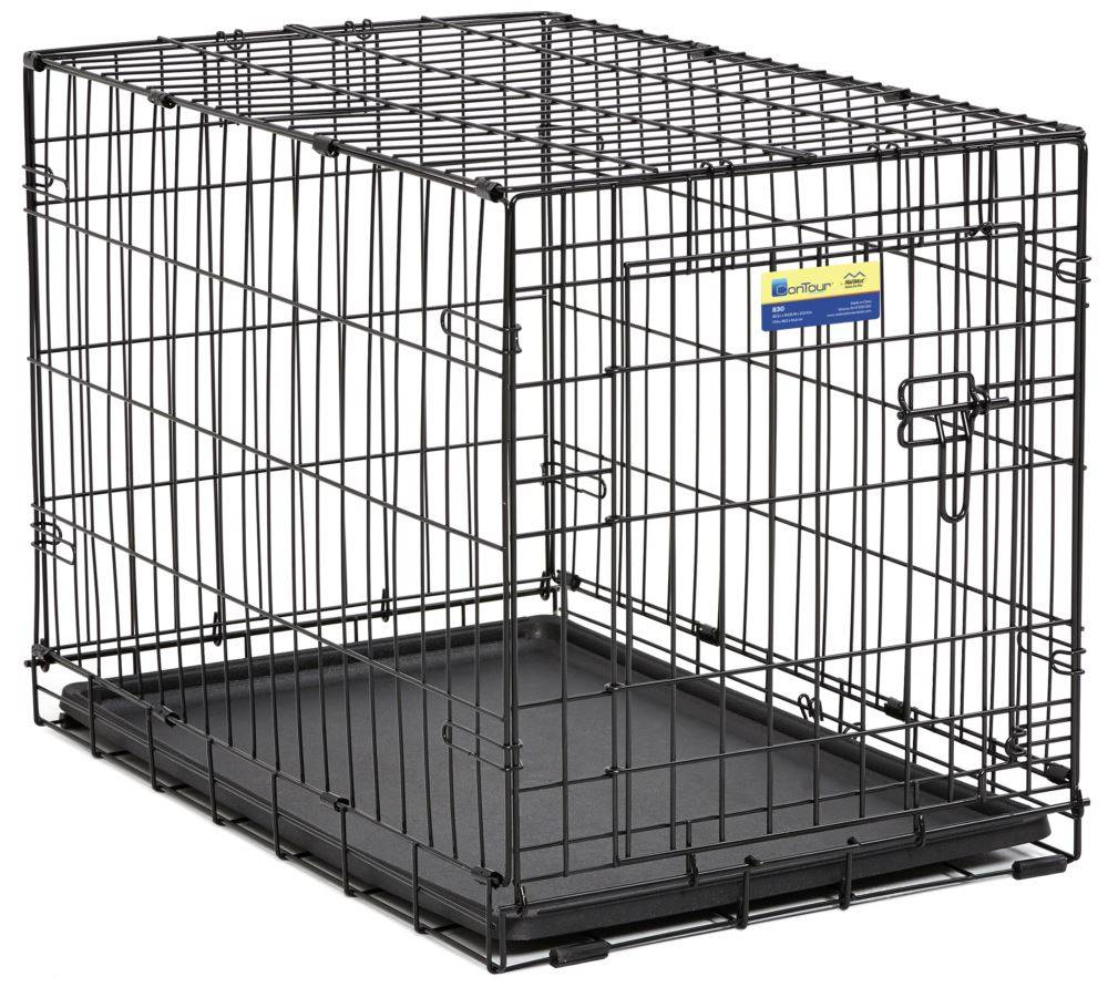 MIDWEST Midwest Contour Crate Black 3000 30in