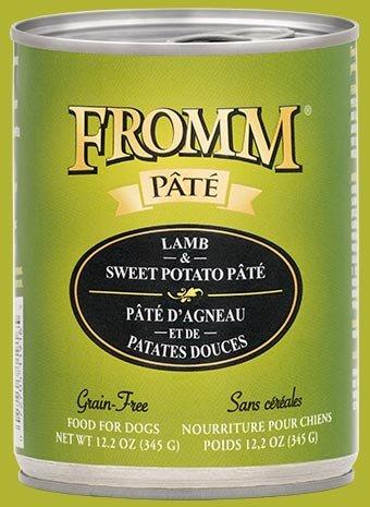 FROMM Fromm Grain Free Pate 12.2OZ Lamb & Sweet Potato