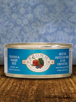 FROMM Fromm Cat Four-Star Pate Seafood and Shrimp  5.5oz