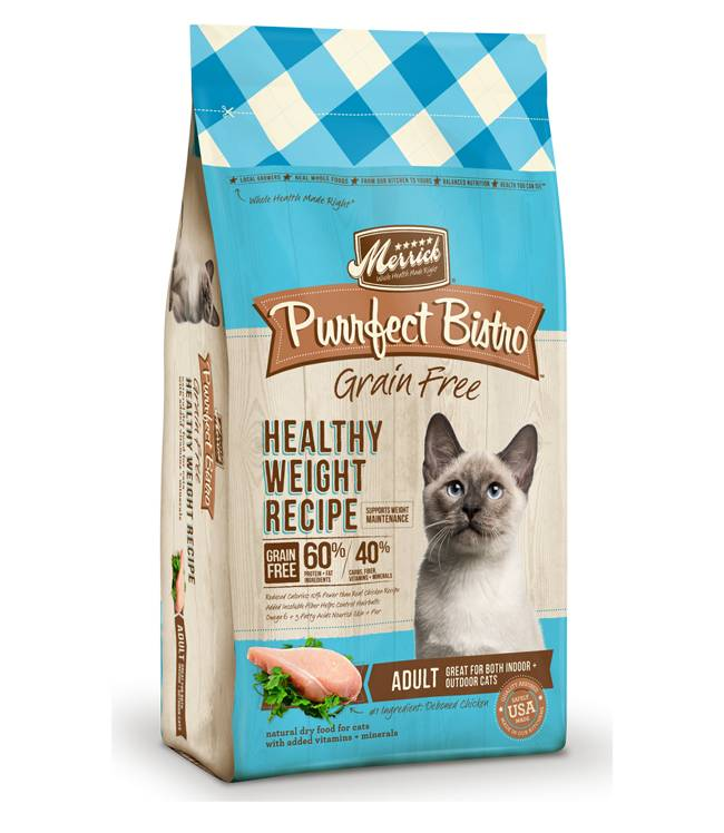 MERRICK Merrick Purrfect Bistro Grain Free Healthy Weight -