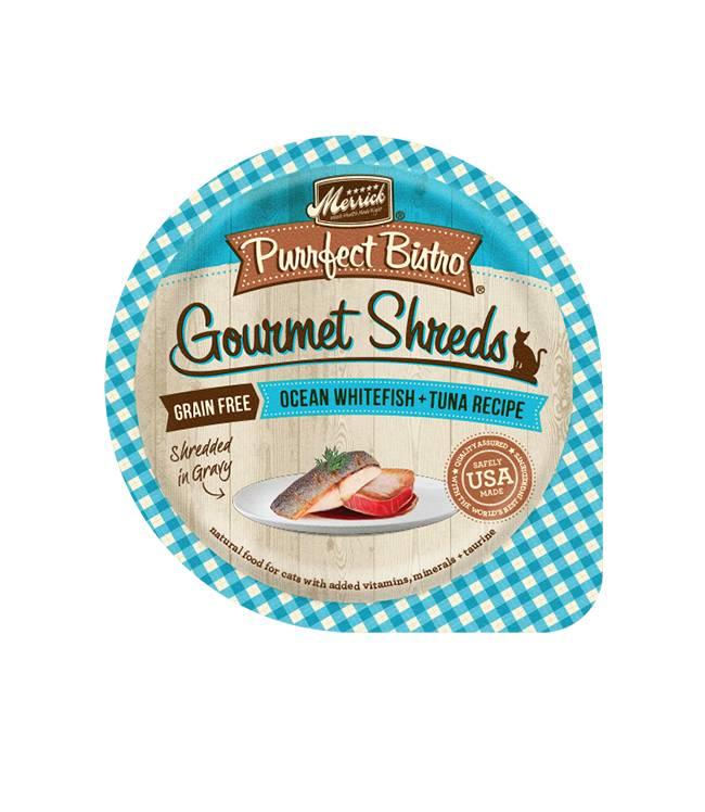 MERRICK Merrick Purrfect Bistro Gourmet Shredders OceanFish Tuna 3.5OZ