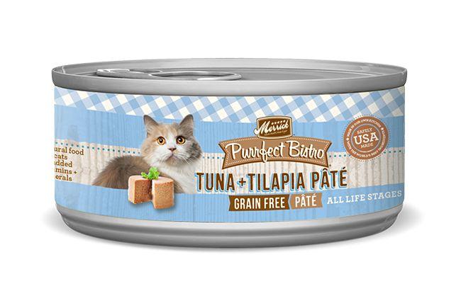 MERRICK Merrick Purrfect Bistro Pate Tuna/Talapia 3OZ