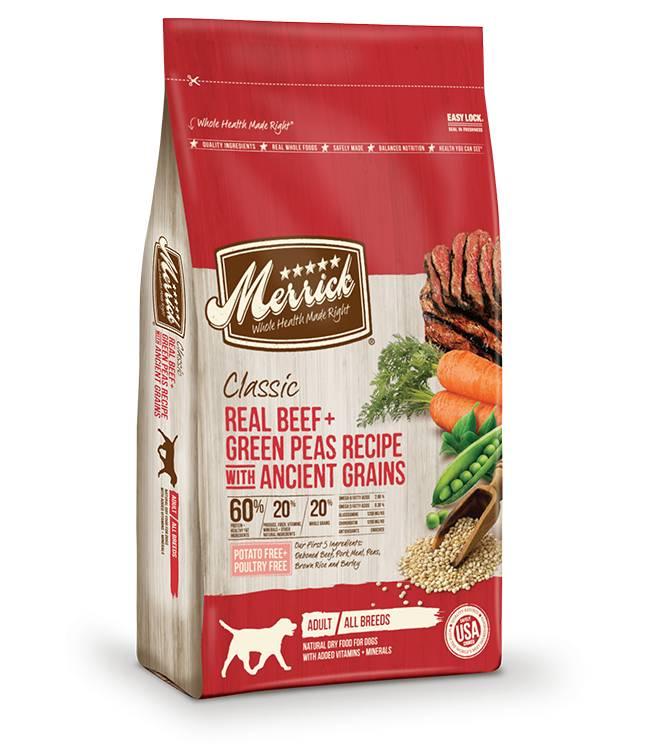 MERRICK Merrick Classic Beef/Peas/Ancient Grains