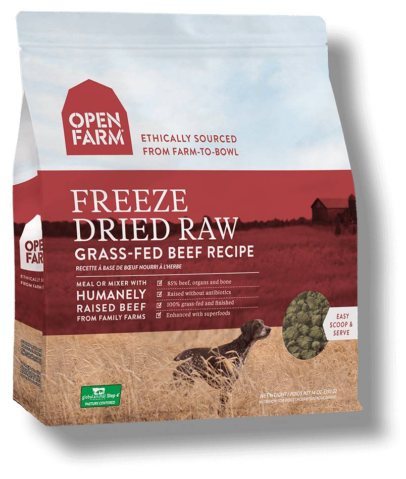 Open Farm Open Farm Freeze Dried Raw Grass-Fed Beef 13.5 oz