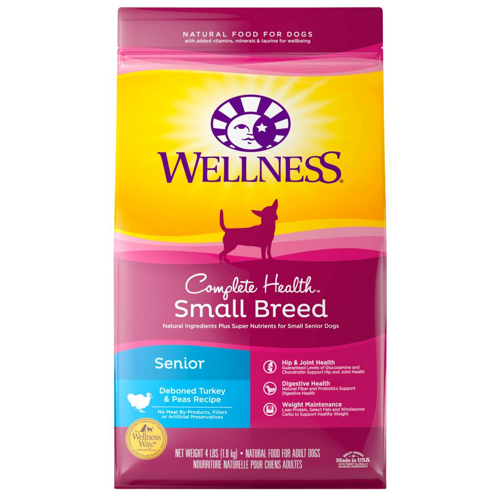 WELLNESS Wellpet Complete Health Chicken Small Breed  -  Senior 4lb