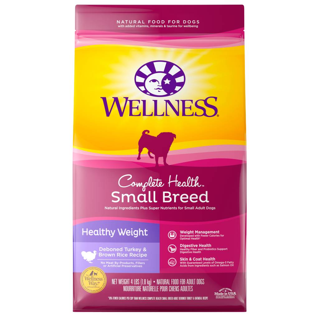 WELLNESS Wellpet Complete Health Chicken Small Breed  -  Weight Control 4lb