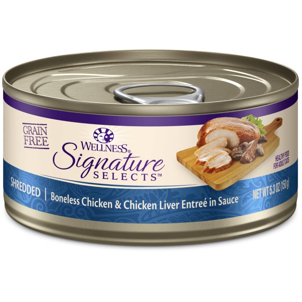 WELLNESS Wellpet Cat Signature Select Chicken and Chicken Liver 2.8oz