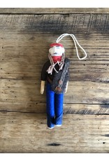 Silk Road Bazaar Willie Nelson Ornament
