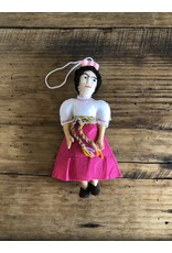 Silk Road Bazaar Frida Kahlo Ornament