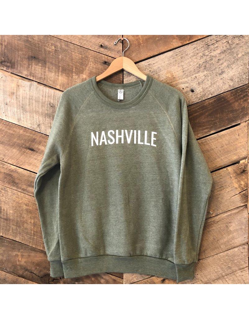 Olive Nashville Sweatshirt