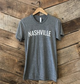 Grey Nashville Unisex Tee