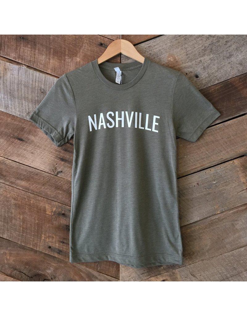 Olive Nashville Unisex Tee