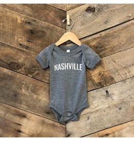 Grey Triblend Nashville Onesie