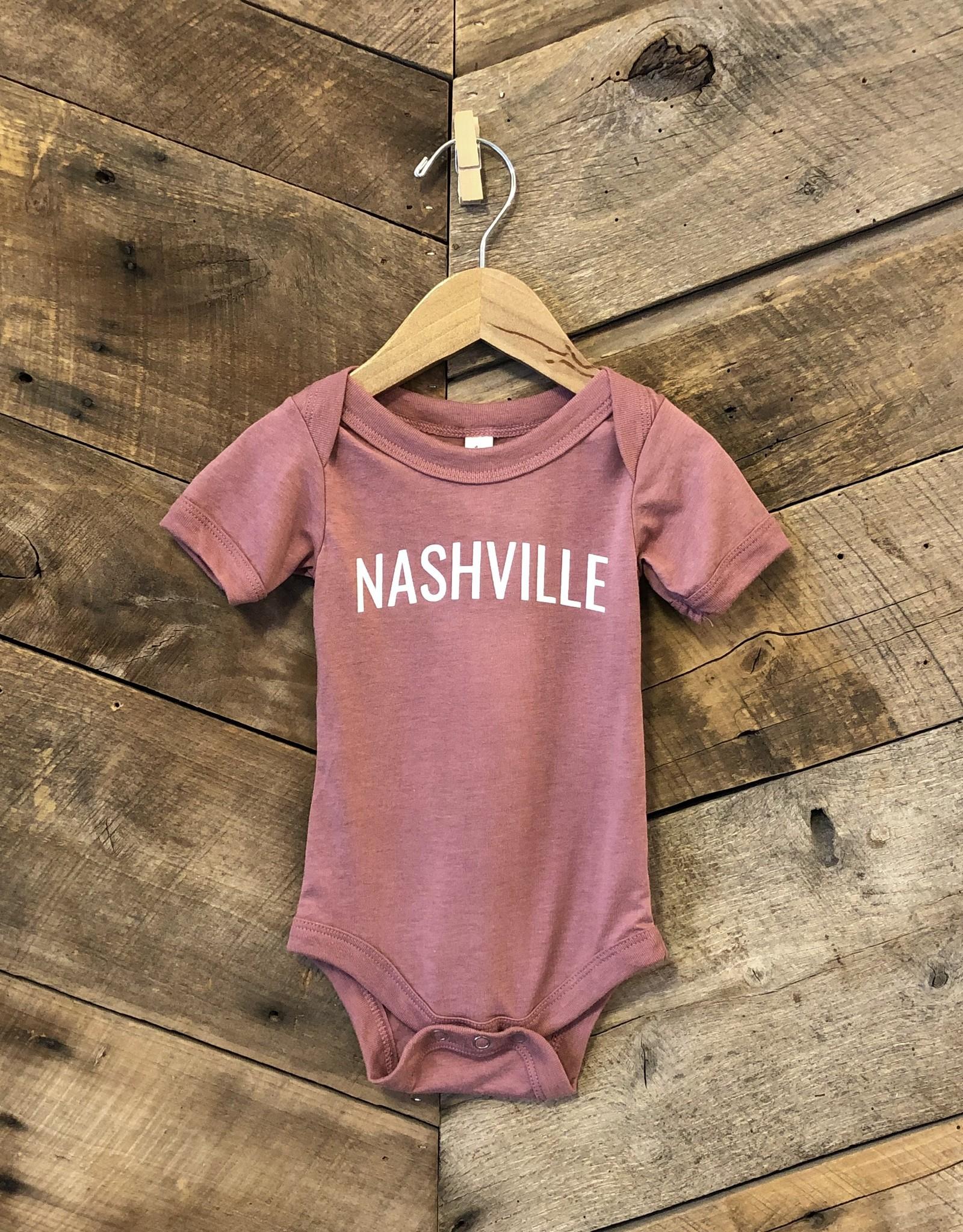 Mauve Nashville Onesie