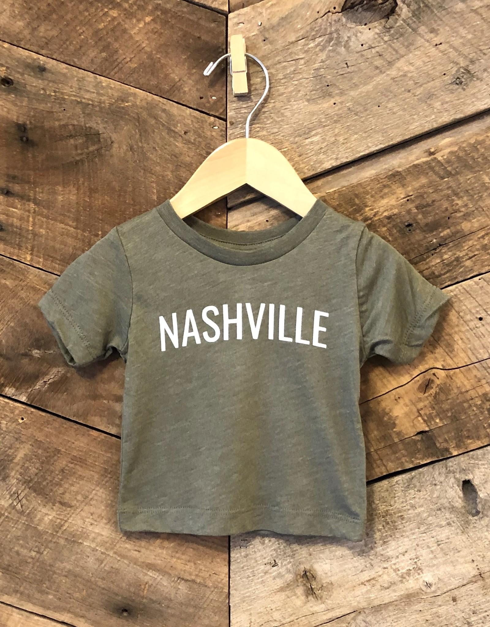 Olive Nashville Baby Tee