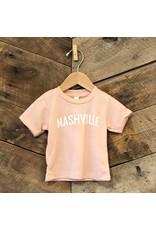 Peach Nashville Baby Tee