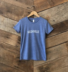 Blue Triblend Nashville Youth Tee