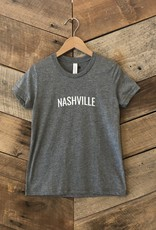 Grey Triblend Nashville Youth Tee