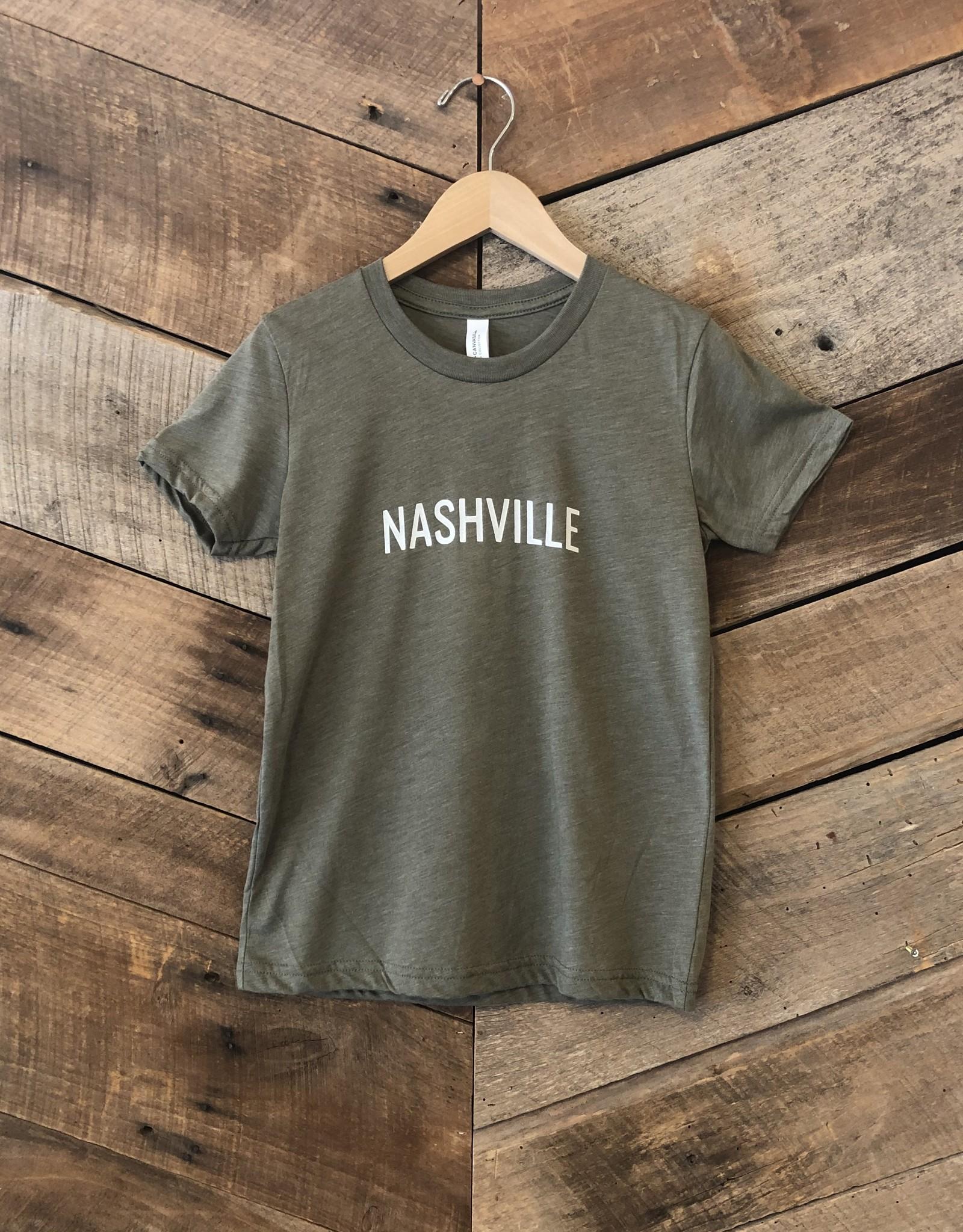 Olive Nashville Youth Tee