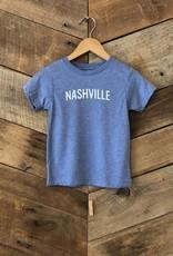 Blue Triblend Nashville Toddler Tee