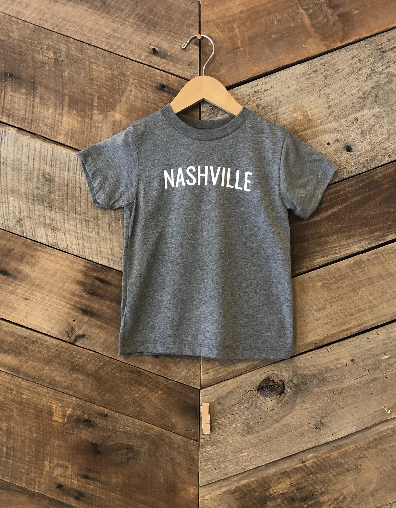 Grey Triblend Nashville Toddler Tee