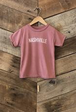 Mauve Nashville Toddler Tee