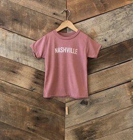 Mauve Nashville Toddler Tee