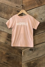 Peach Nashville Toddler Tee