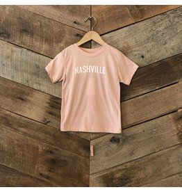 Peach Nashville Toddler Tee