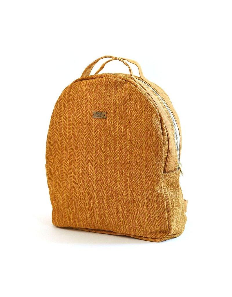 Sienna Herringbone Backpack