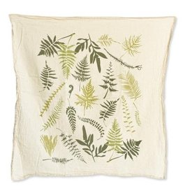 Endangered Ferns Tea Towel