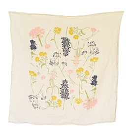 Southern Region Wildflowers Tea Towel