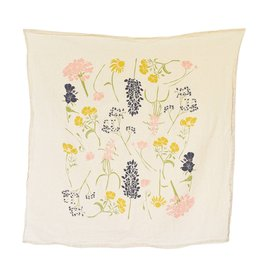 Southern Region Wildflowers Tea Towel